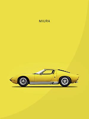 Photograph - Miura 72 by Mark Rogan