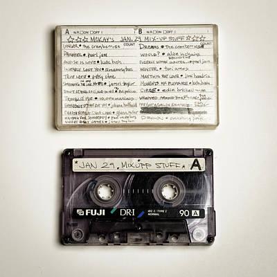 Mix Tape 12 Art Print