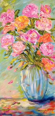 Painting - Mixed Bouquet by Barbara Pirkle