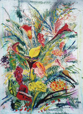 Painting - Mixed Bouquet by John Keaton