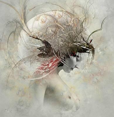 Digital Art - Mixed Emotions by Ali Oppy