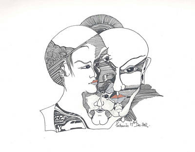 Mixed Identities Art Print by Padamvir Singh
