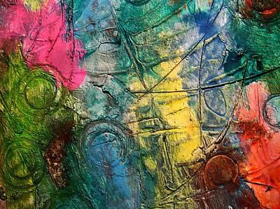 Painting - Mixed Media 11 By Rafi Talby by Rafi Talby