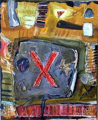 Mixed Media - Mixed Media 14 by Mark Palmer
