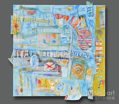 Mixed Media - Mixed Media 7 by Mark Palmer