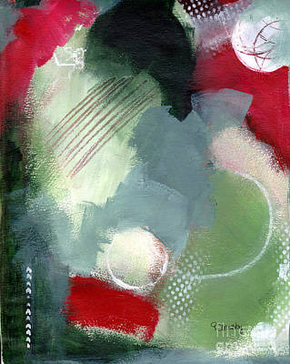 Mixed Media - Mixed Media Abstract 3617 by Patricia Cleasby