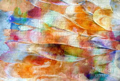 Painting - Mixed Media Abstract  B31015 by Mas Art Studio