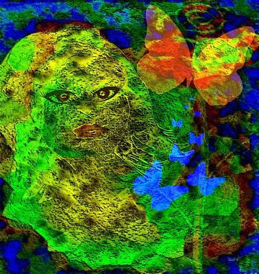 Yesayah Mixed Media - Mixed Media Painting Is Still A Real Painting - Mixed Person Is Still A Real Person by Fania Simon