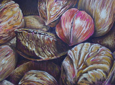 Painting - Mixed Nuts by Outre Art  Natalie Eisen