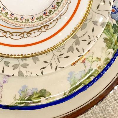 Photograph - Mixed Plates by Flavia Westerwelle