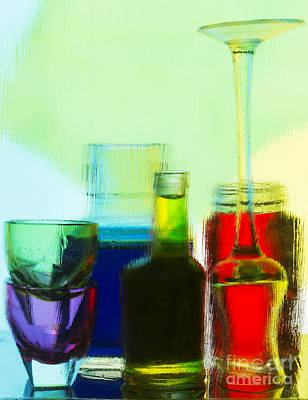 Photograph - Mixology 2 by Elena Nosyreva