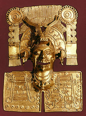 Photograph - Mixtec: God Of The Dead by Granger