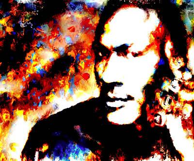 Mj 6 Rings Art Print