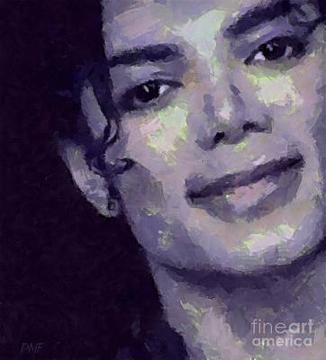 Michael Jackson Painting - MJ by Dragica Micki Fortuna