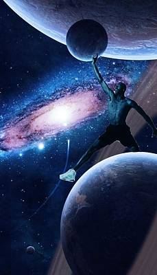 Mj In The Space Original by Zeynep Baysal