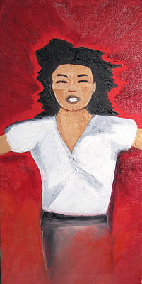 Mj One Of Five Number Five Original by Patricia Arroyo