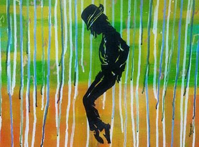 MJ Art Print by Vishal Dharmani