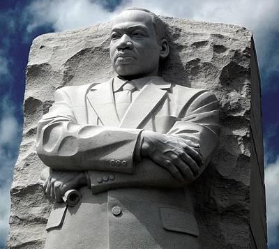 Photograph - Mlk Jr Monument by Danielle R T Haney
