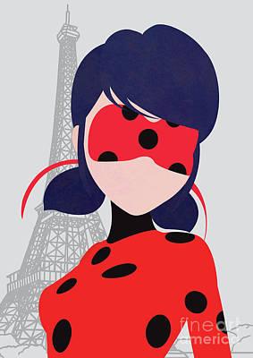 Ladybug Mixed Media - Ml_ladybug by Micaela Franchi
