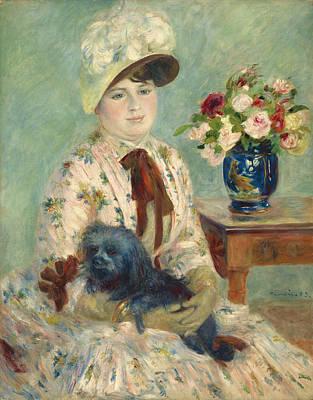 Mlle Charlotte Berthier Art Print by Auguste Renoir