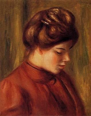 Mlle  Christine Lerolle   18 Art Print