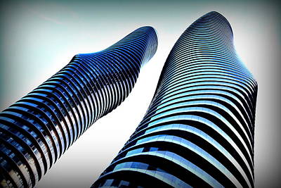 Photograph - Mm Buildings 1 by Douglas Pike