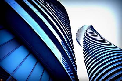 Photograph - Mm Buildings 3 by Douglas Pike