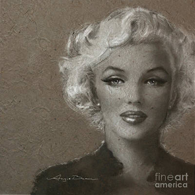 Portrait Painting - Mm Soft by Angie Braun