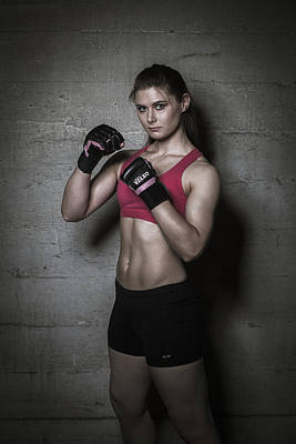 Photograph - Mma Fighter by Scott Meyer