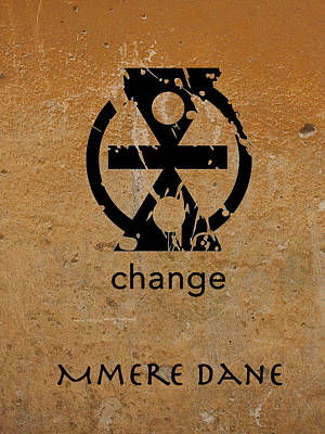 Digital Art - Mmere Dane Adinkra Symbol by Kandy Hurley