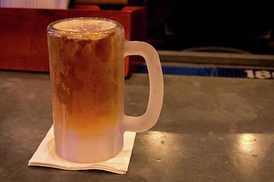 Frosty Mug Photograph - Mmmm Beer by Ben Zell