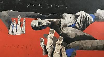 Mmxvii Fallen No 1  Art Print