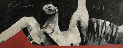 Mmxvii Fallen No 5  Art Print