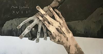 Mmxvii Fallen No 8  Art Print