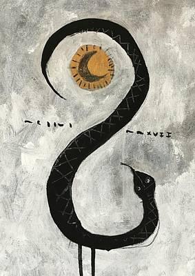 Mmxvii Life And Immortality No 10  Art Print