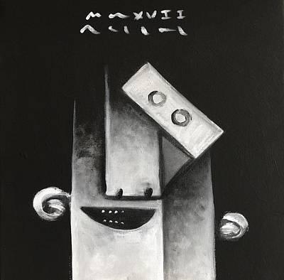 Mmxvii Masks For Despair  Art Print by Mark M Mellon