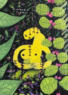 Mmxvii Paradise No 2  Art Print