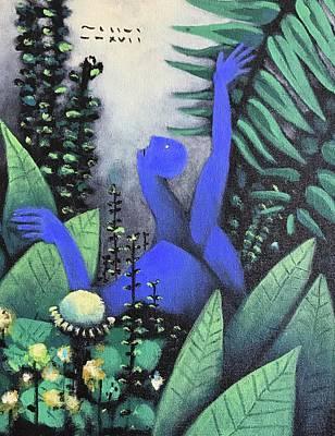 Mmxvii Paradise No 3  Art Print