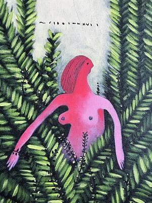 Mmxvii Paradise No 4 Art Print