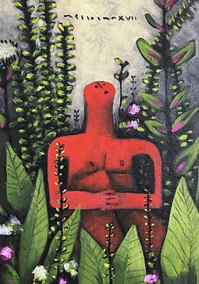 Mmxvii Paradise No 5  Art Print