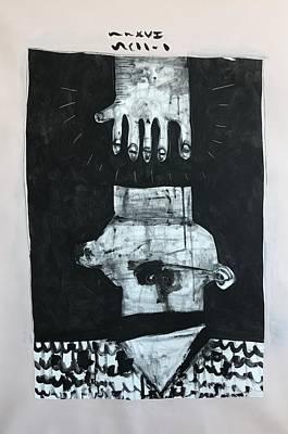 Mmxvii Paranoia No 1  Art Print by Mark M Mellon