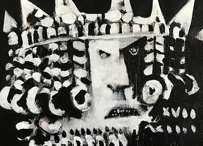 Mmxvii Pawns No 1  Art Print