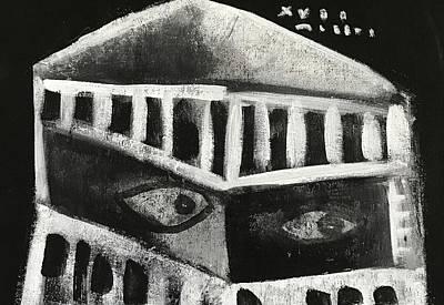 Mmxvii Pawns No 4  Art Print