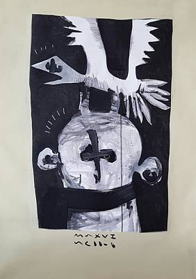 Mmxvii The Gambler  Print by Mark M Mellon