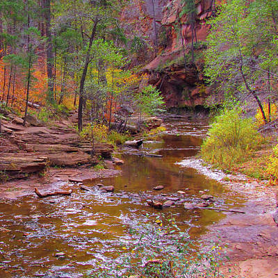 Red Rock Photograph - Mn1212 by Mikes Nature