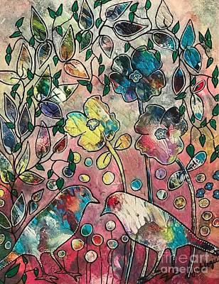 Painting - Mo Birds by Heather McKenzie