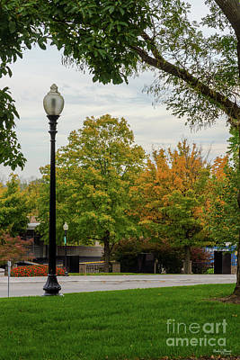 Photograph - Mo Capitol Autumn Grounds by Jennifer White