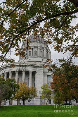Photograph - Mo Capitol Autumn by Jennifer White