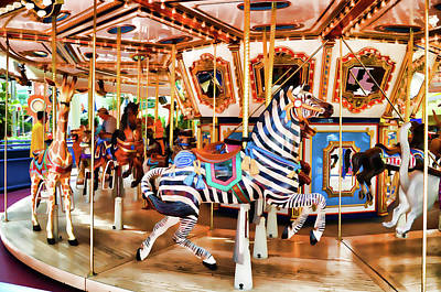 Moa Painting - Moa Carousel  by Lanjee Chee
