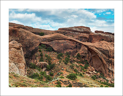 Photograph - Moab Arch 28x22 by Dan McGeorge